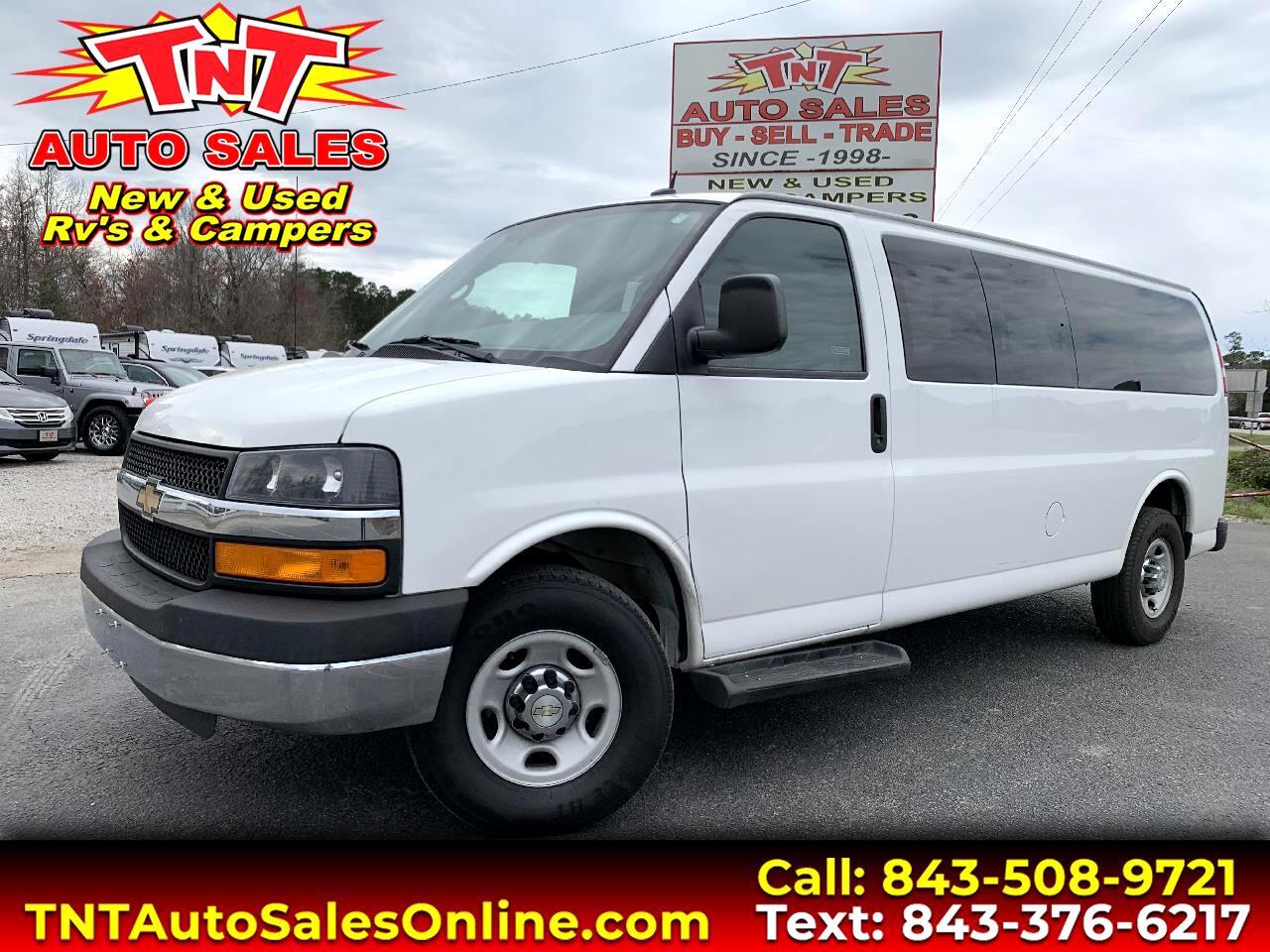 2015 Chevrolet Express LT Passenger Van