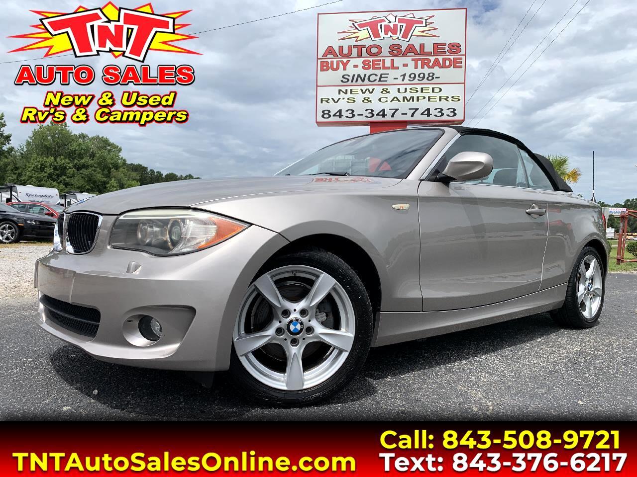 2013 BMW 1-Series 128i Convertible