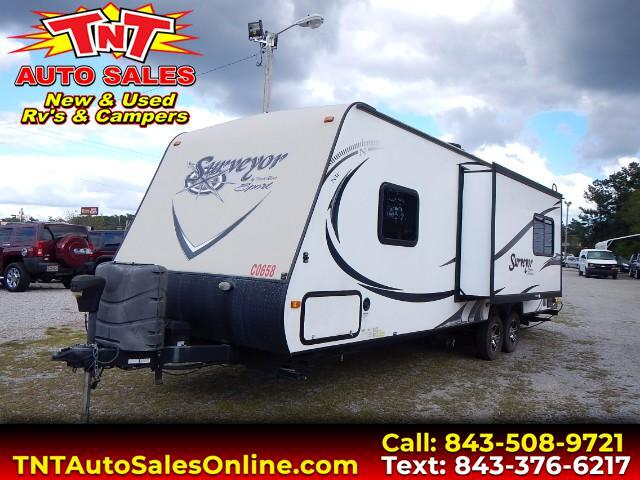 used 2014 forest river surveyor 264rks for sale in conway sc 29526 conway tnt. Black Bedroom Furniture Sets. Home Design Ideas