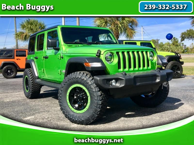 2018 Jeep Wrangler Unlimited Sport JL 4WD