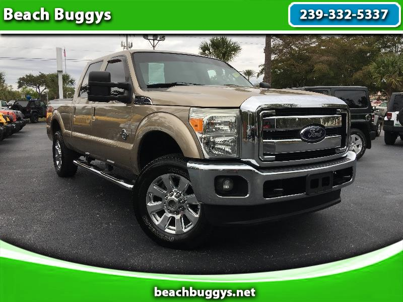 2012 Ford F-250 SD XLT Crew Cab Long Bed Lariat 4WD