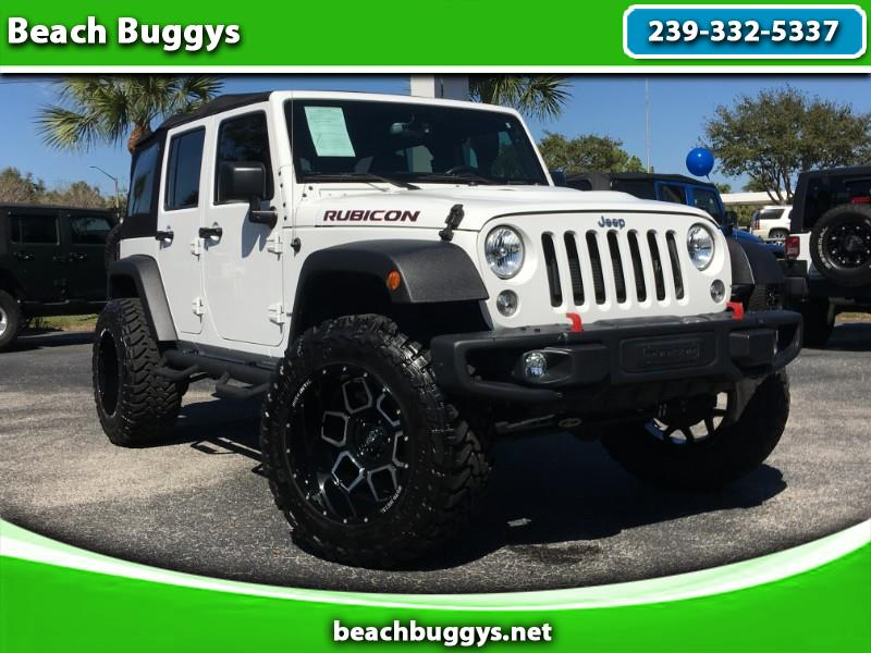2016 Jeep Wrangler Unlimited Hard Rock Edition Rubicon 4WD