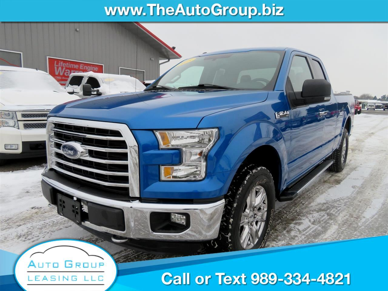 Ford F-150 XLT SuperCab 4WD 2015