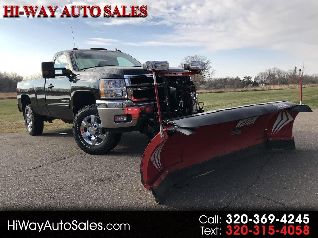 """2012 Chevrolet Silverado 2500HD 4WD Reg Cab 133.7"""" LT"""