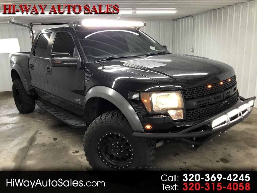 "Ford F-150 4WD SuperCrew 145"" SVT Raptor 2012"