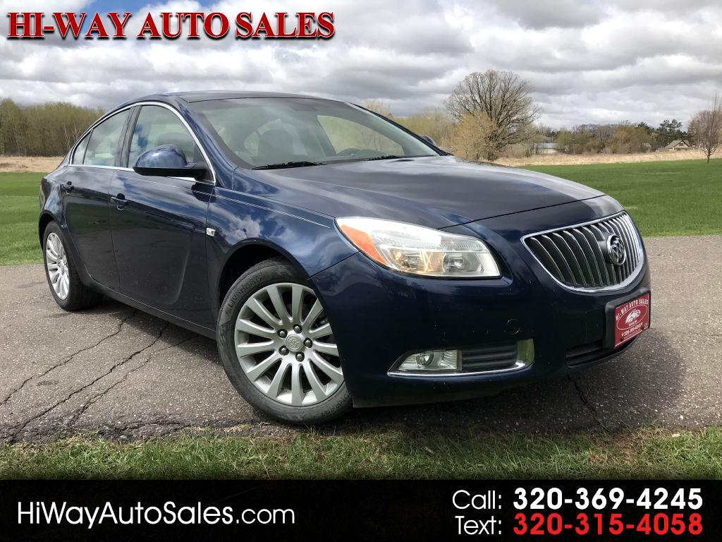 Buick Regal 4dr Sdn CXL RL3 (Russelsheim) *Ltd Avail* 2011