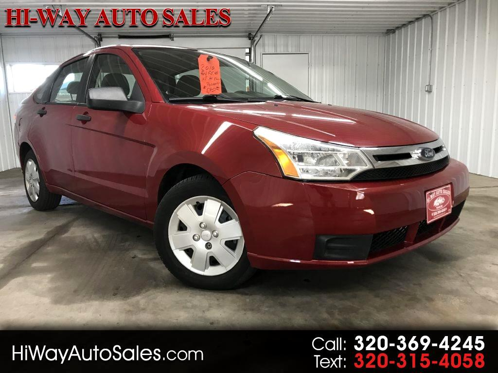 2010 Ford Focus 4dr Sdn S