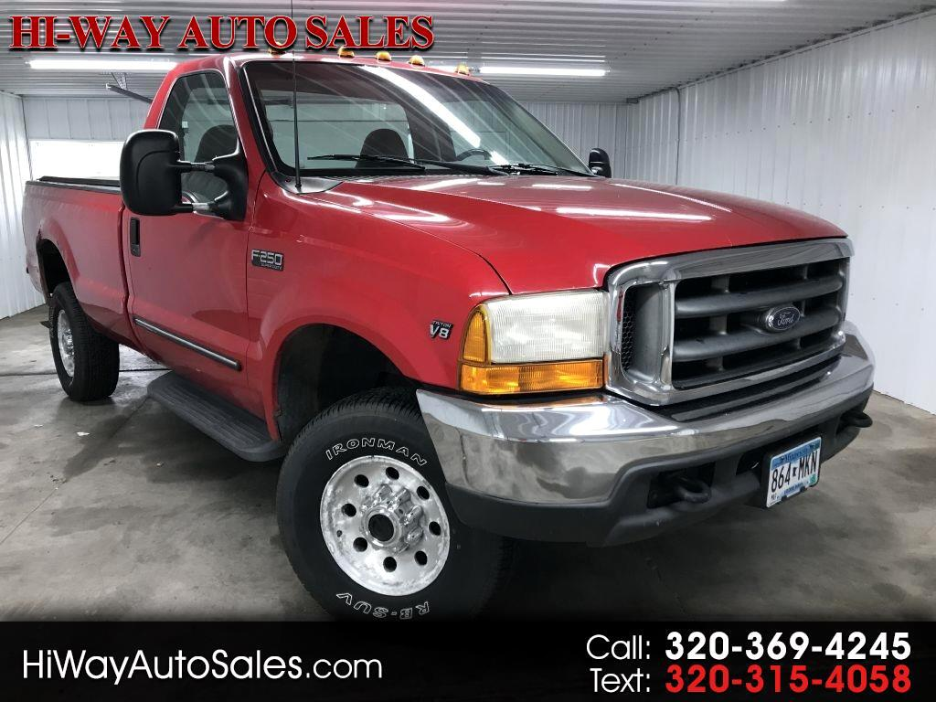 "2000 Ford Super Duty F-250 Reg Cab 137"" XLT 4WD"