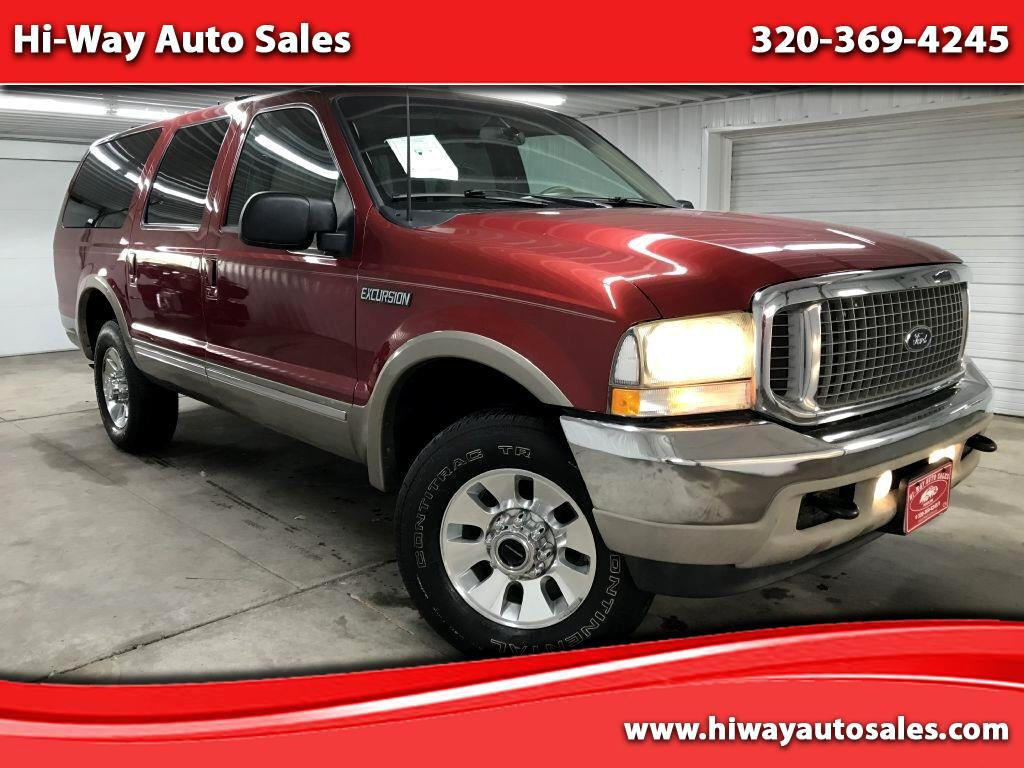 "Ford Excursion 137"" WB 6.8L Limited 4WD 2002"