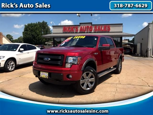 "2014 Ford F-150 4WD SuperCrew 139"" FX4"