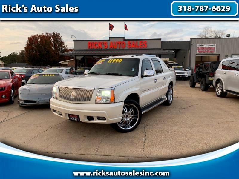 2004 Cadillac Escalade EXT Sport Utility Truck