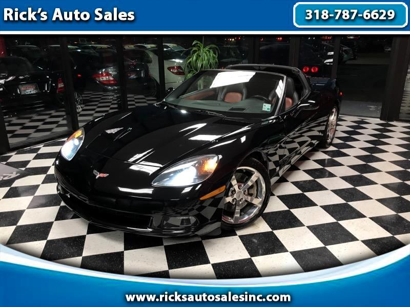 2008 Chevrolet Corvette 2dr Cpe w/4LT