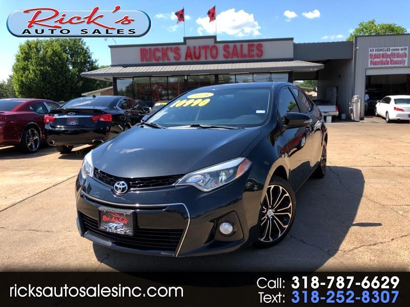 Toyota Alexandria La >> Toyota Corolla For Sale In Alexandria La Auto Com