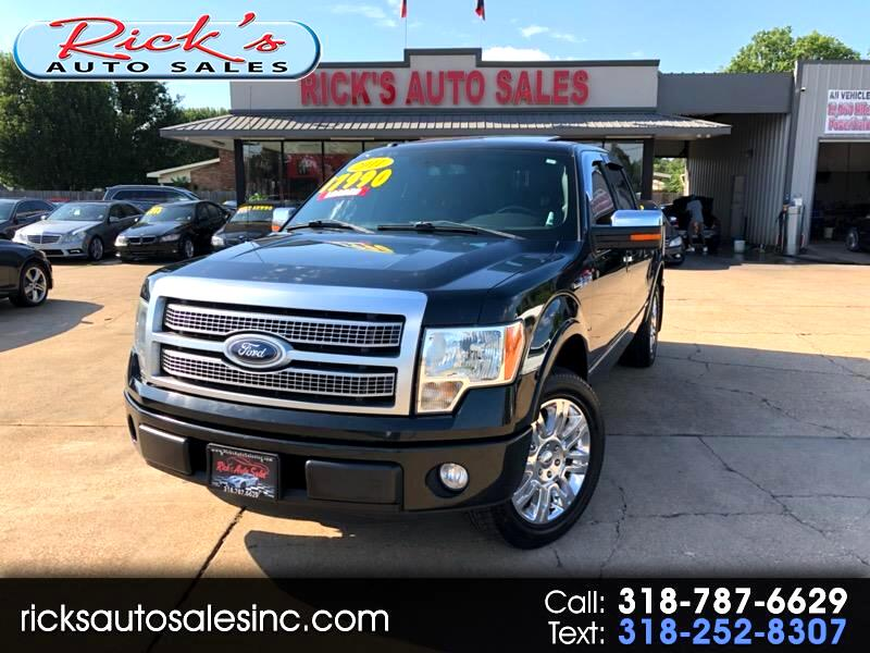 2011 Ford F-150 Platinum 2WD SuperCrew 6.5' Box