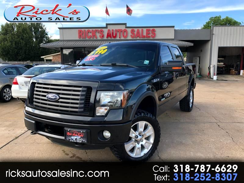 """2012 Ford F-150 4WD SuperCrew 139"""" FX4"""