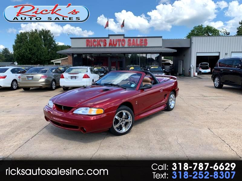 1996 Ford Mustang Cobra Convertible