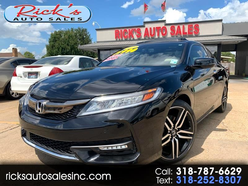2016 Honda Accord Touring V6 Coupe AT