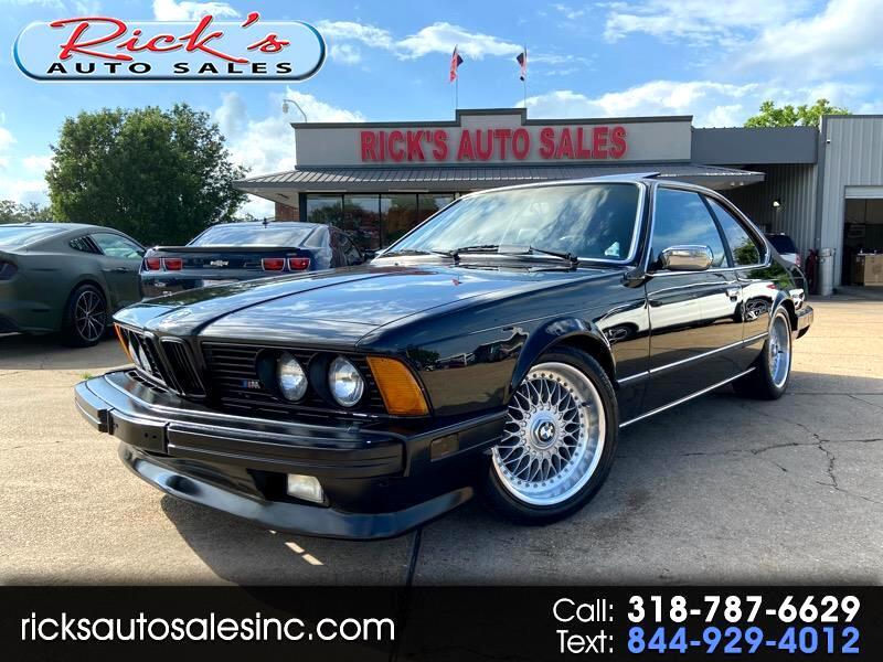 BMW 635CSi Base 1986