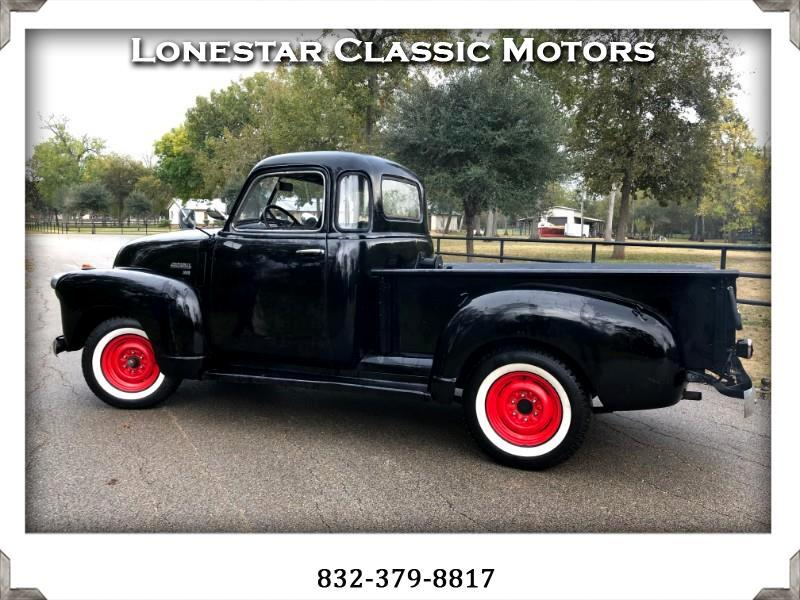 1950 Chevrolet 1/2 Ton Pickups Short wheel base