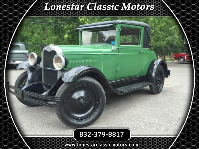 1928 Chevrolet 2 Door Business Coupe