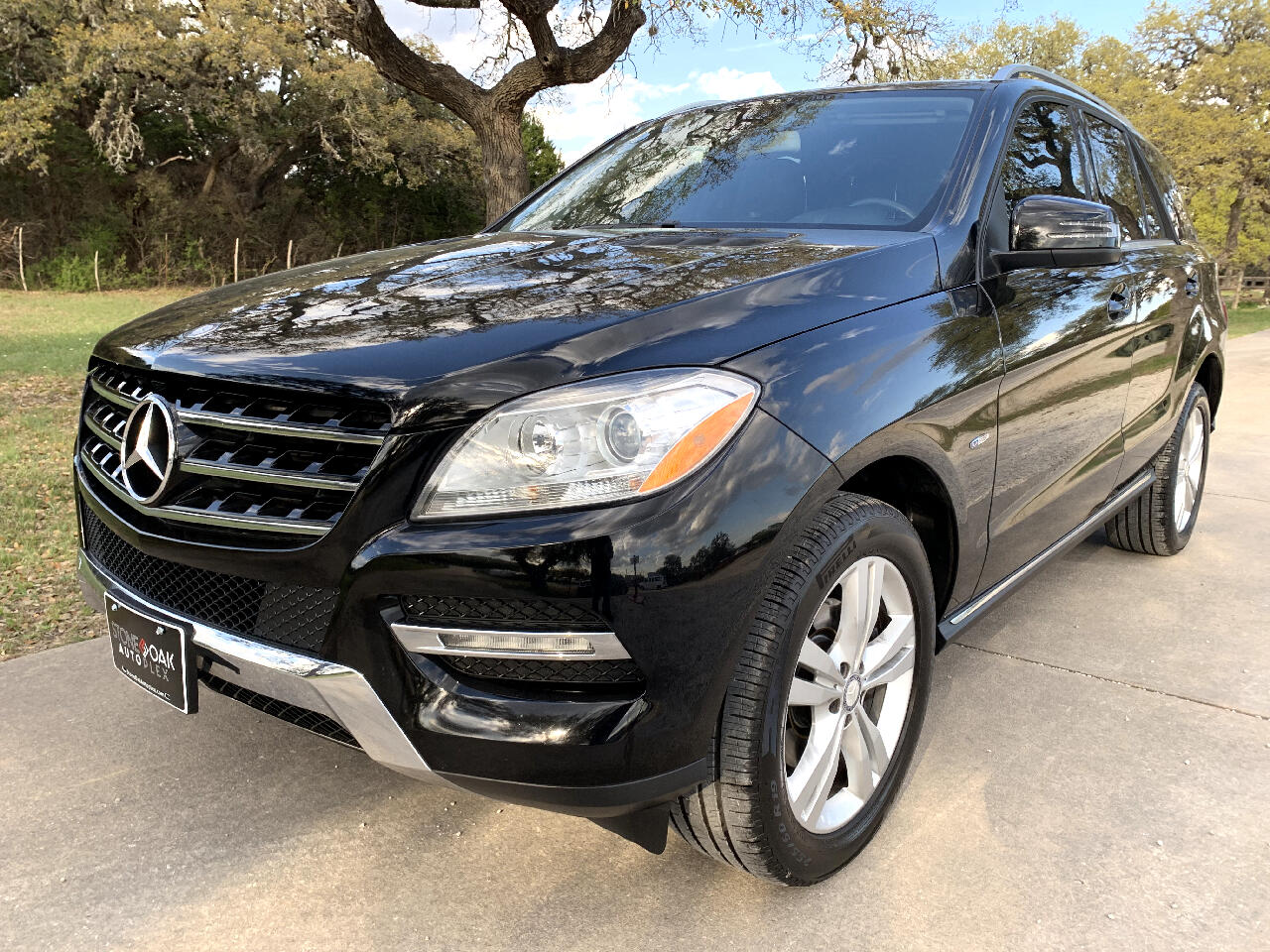 2012 Mercedes-Benz M-Class 4MATIC 4dr ML 350 BlueTEC
