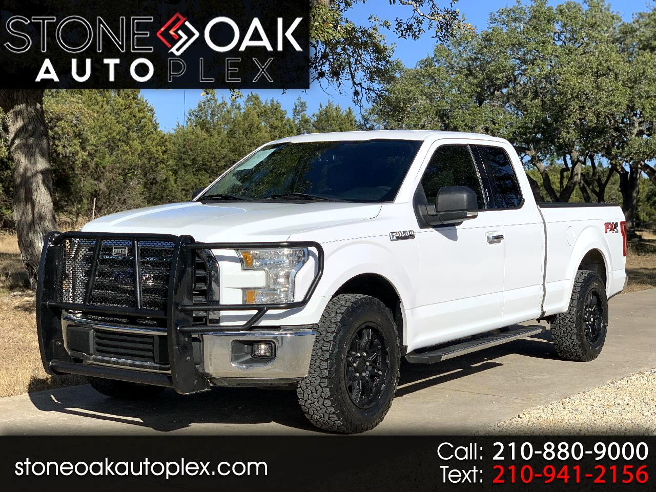 "Ford F-150 4WD SuperCab 163"" XLT w/HD Payload Pkg 2015"