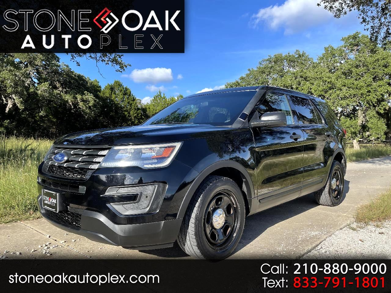 Ford Explorer Police 4WD 2018