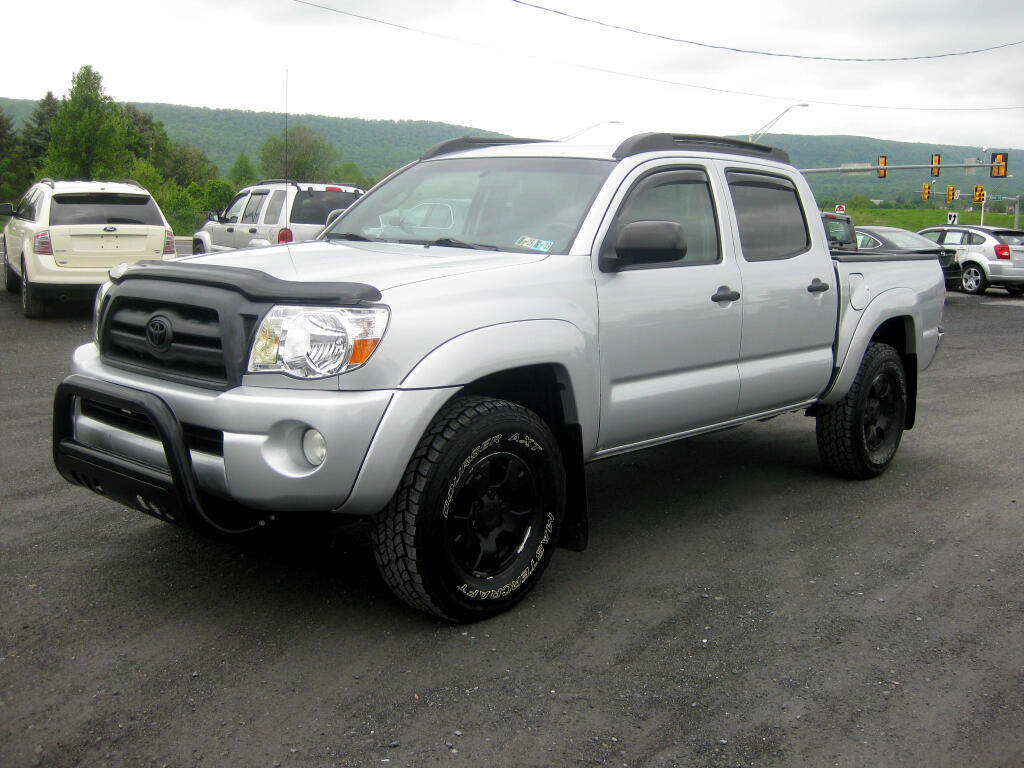 2008 Toyota Tacoma Double Cab V6 Manual 4WD