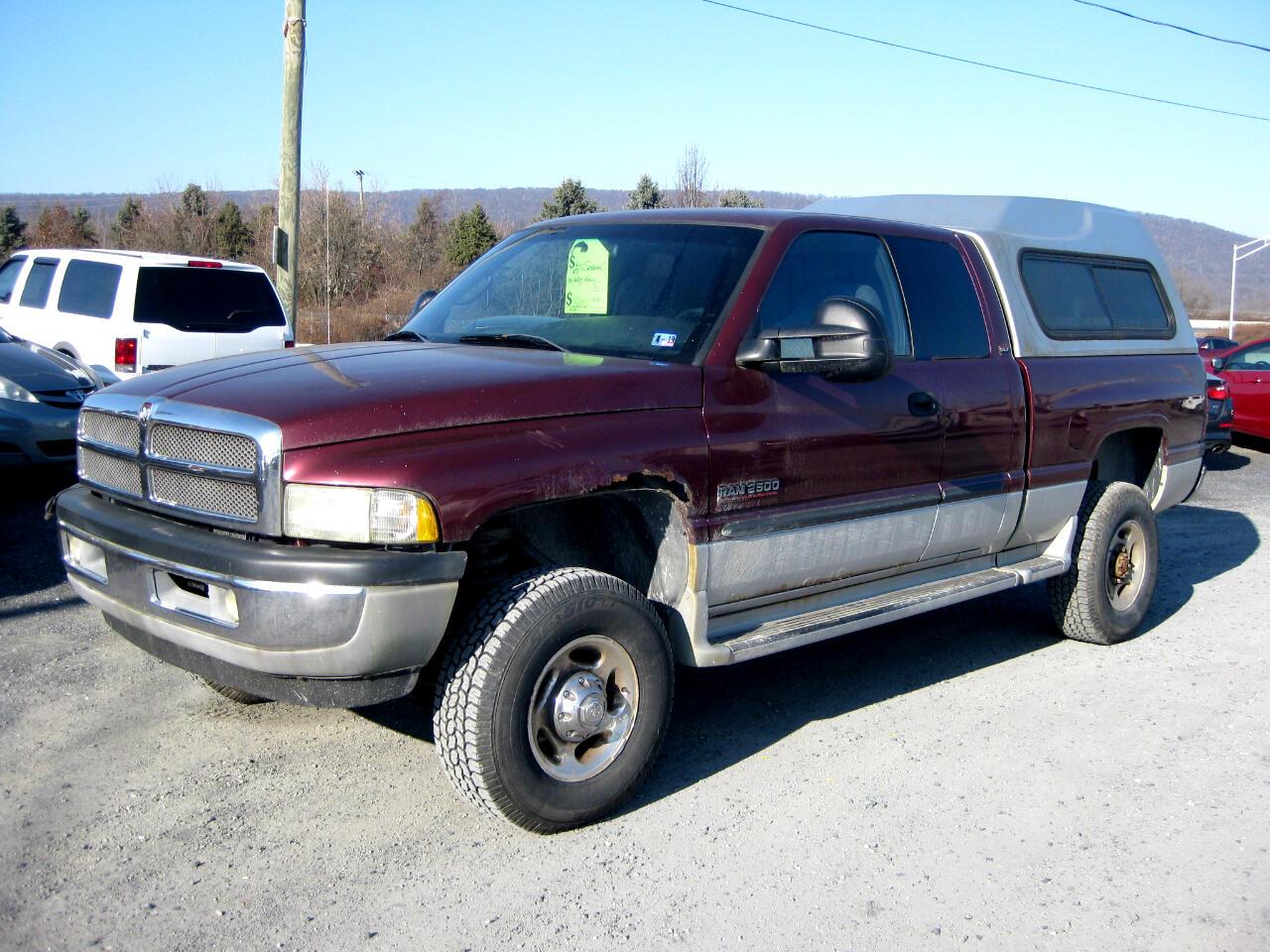 2001 Dodge Ram 2500 SLT Plus Quad Cab Short Bed 4WD