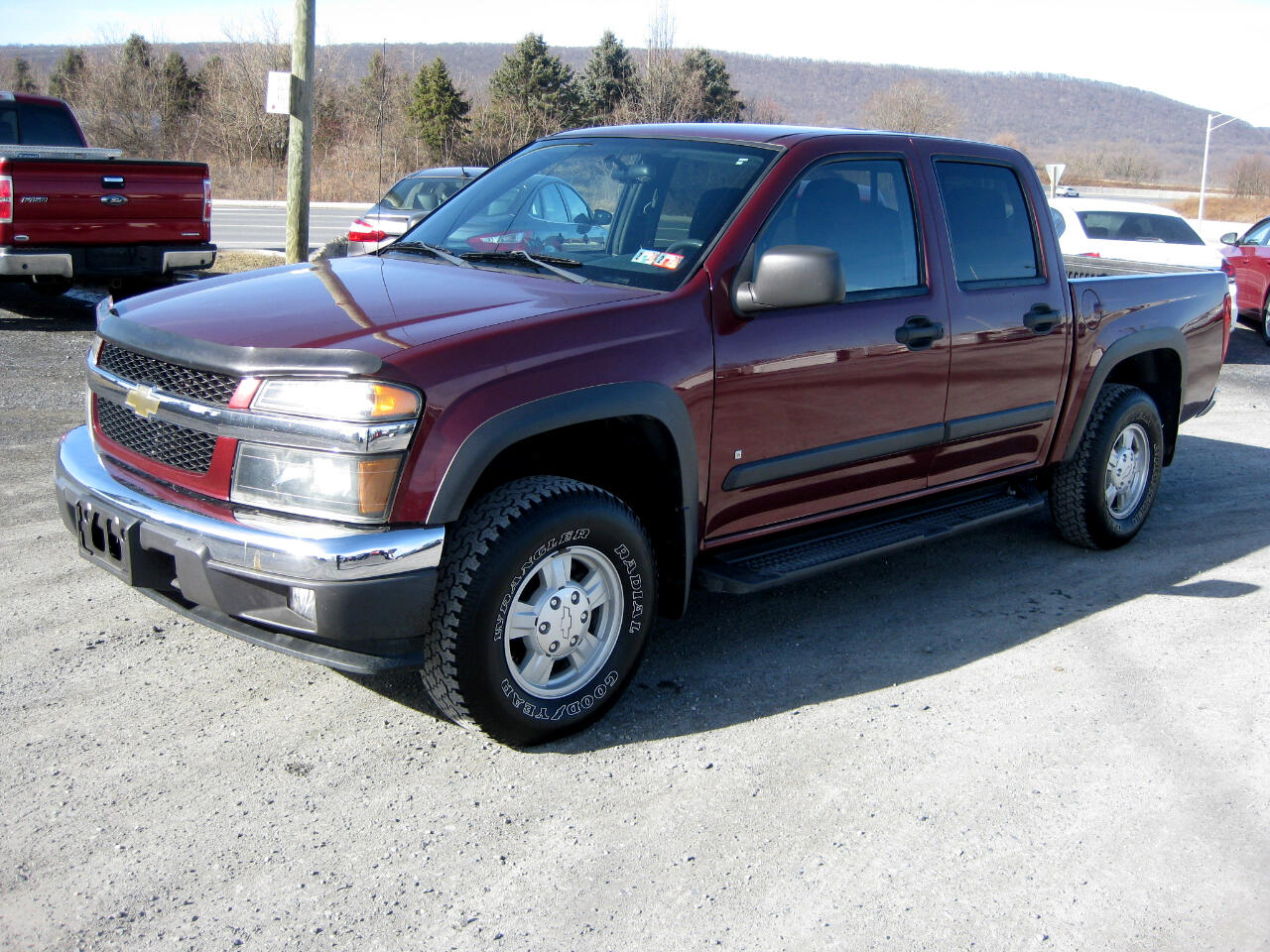 2007 Chevrolet Colorado LT Crew Cab 4WD Short Box