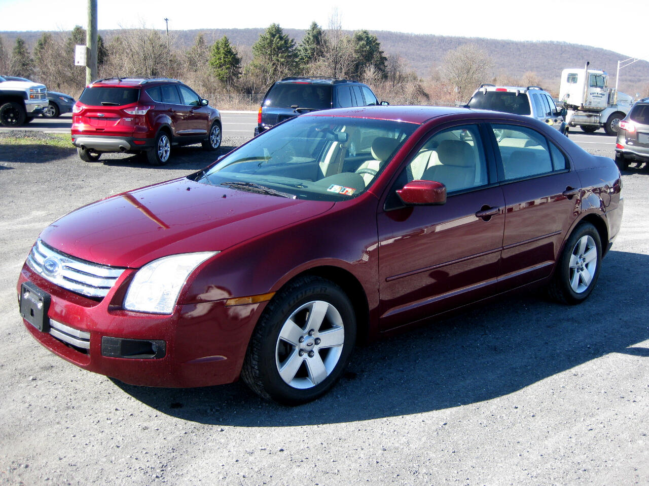 2007 Ford Fusion 4dr Sdn SE AWD