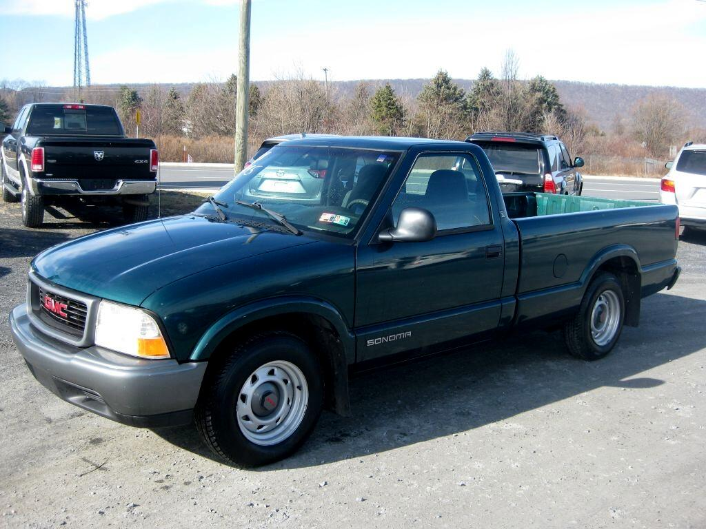 GMC Sonoma SL Reg. Cab Long Bed 2WD 1998