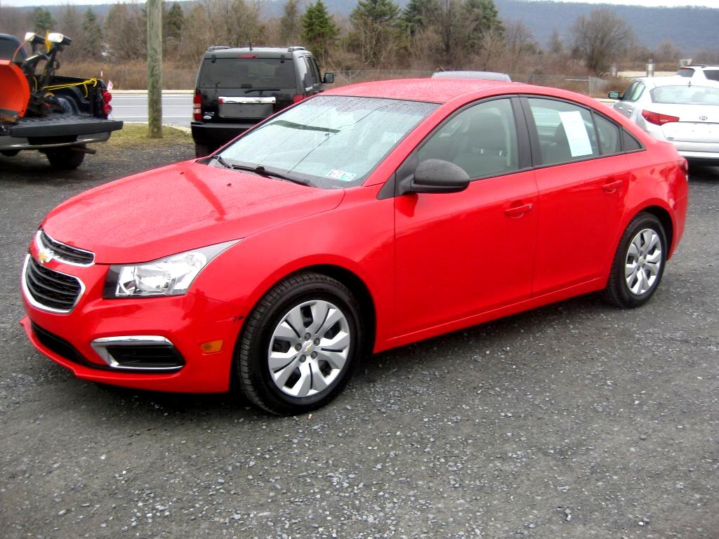Chevrolet Cruze LS Manual 2015