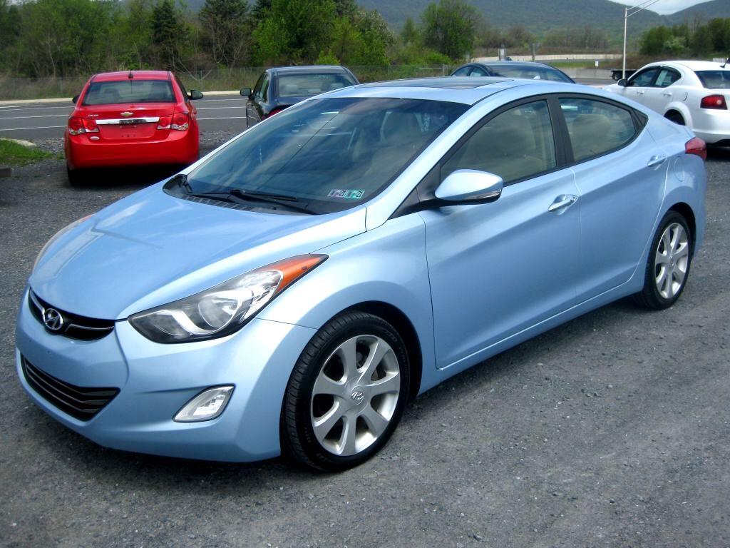 Hyundai Elantra 4dr Sdn Auto Limited (Ulsan Plant) 2011