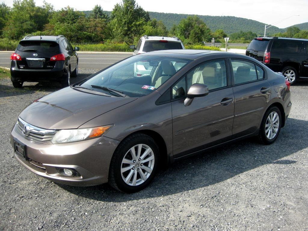Honda Civic EX Sedan 5-Speed AT 2012