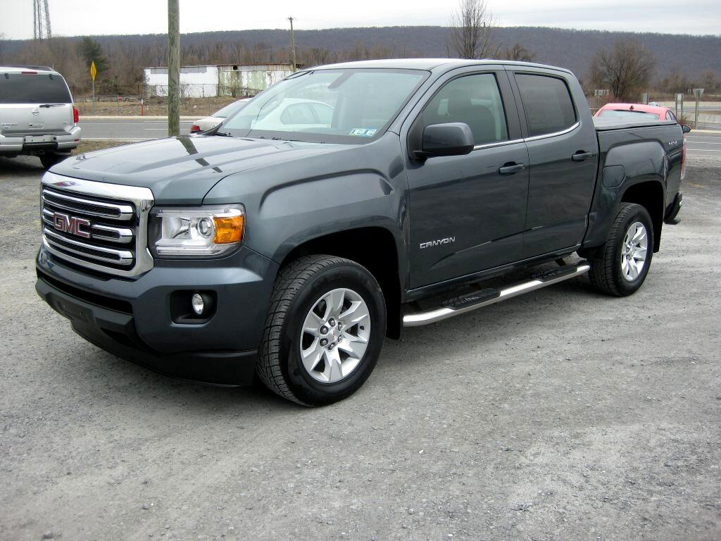 GMC Canyon SLE Crew Cab 4WD Short Box 2015