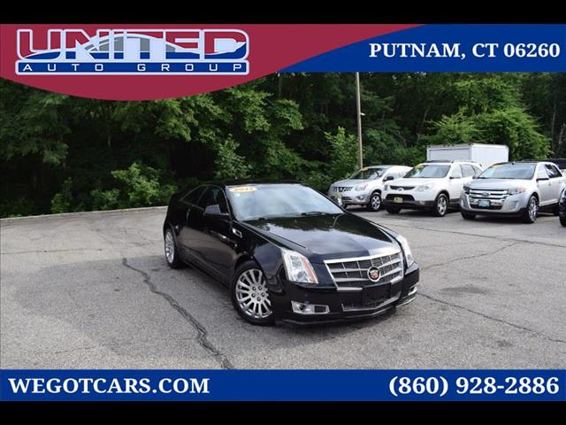 2011 Cadillac CTS 2dr Cpe Performance AWD