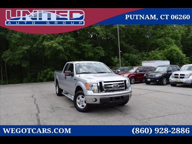 2010 Ford F-150 4WD SuperCab 145' XLT