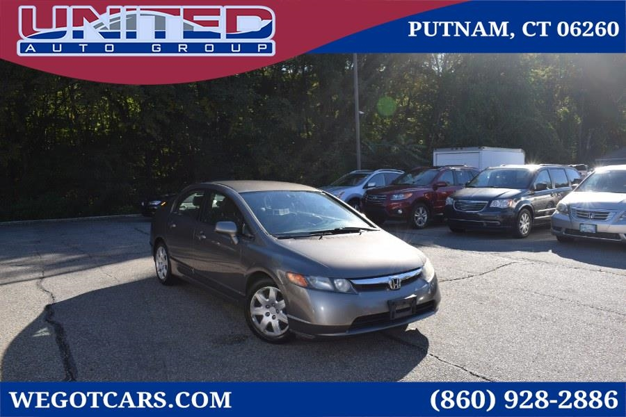 2007 Honda Civic 4dr MT LX
