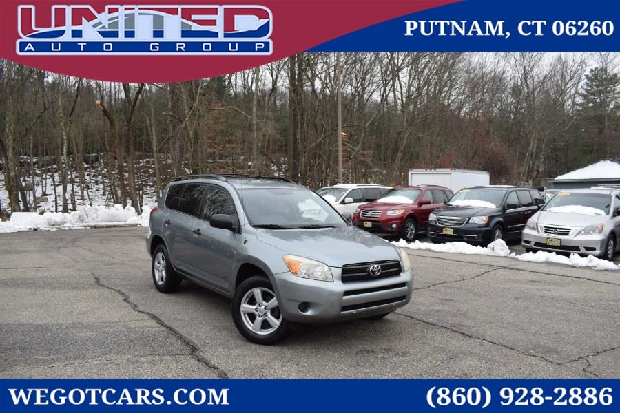 2008 Toyota RAV4 4WD 4dr 4-cyl 4-Spd AT