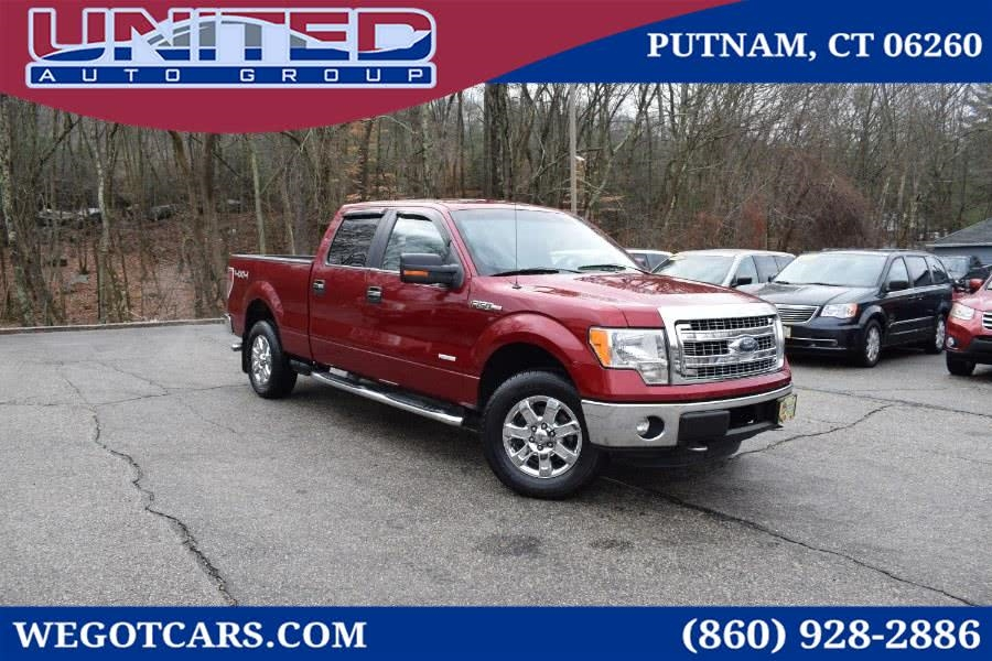 2013 Ford F-150 4WD SuperCrew 145' XLT