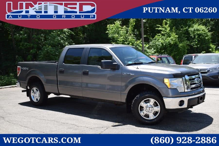 2010 Ford F-150 4WD SuperCrew 145' XLT