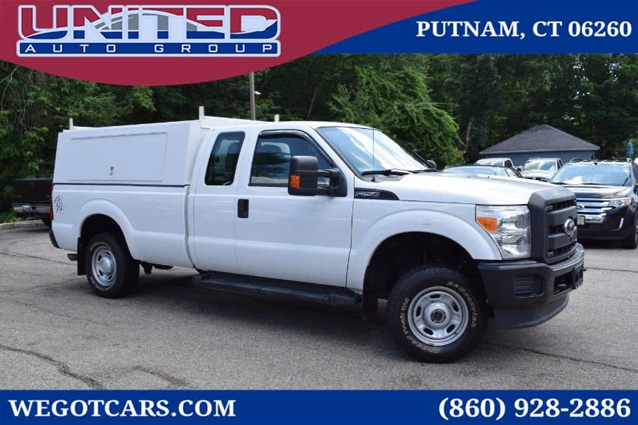 2012 Ford F-250 SD 4WD SuperCab 142' XL