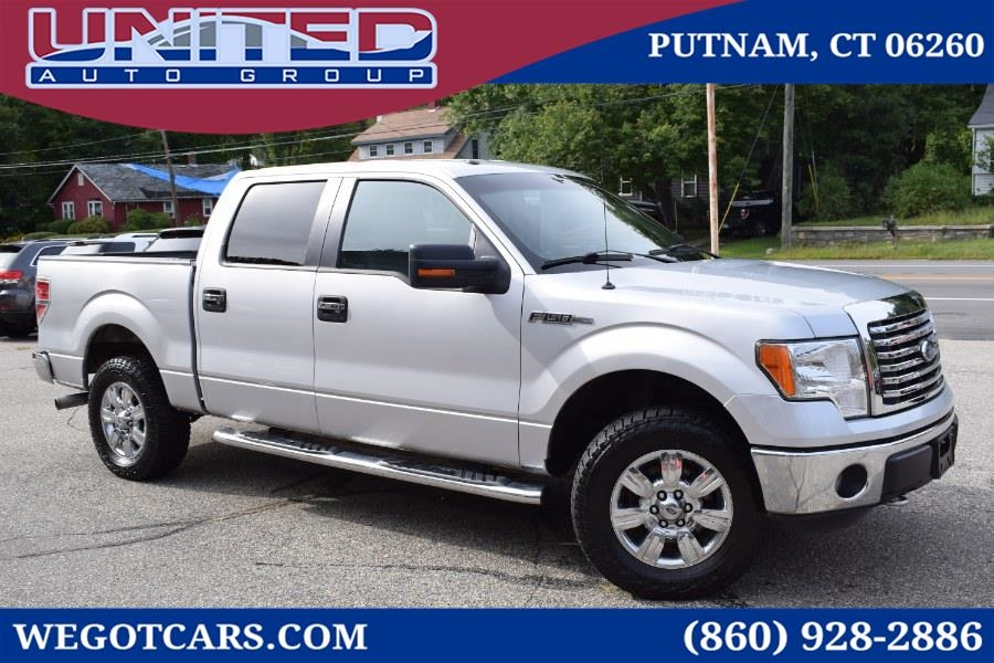 2012 Ford F-150 4WD SuperCrew 145' XLT