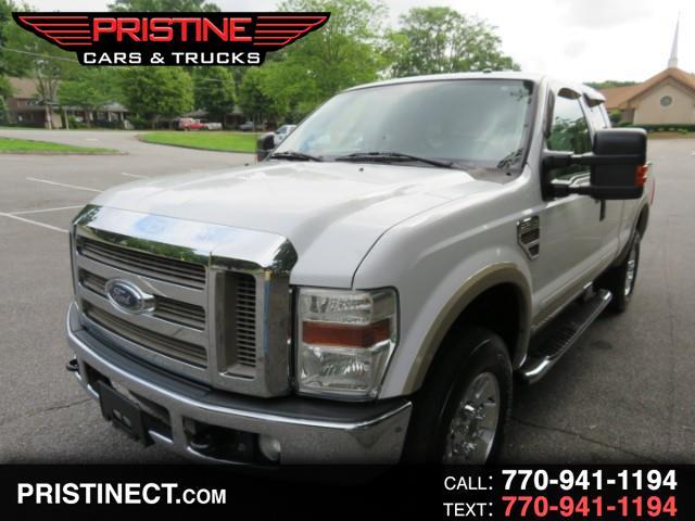 2008 Ford F-250 SD Lariat Super Cab Long Bed 4WD V8Turbo Diesel