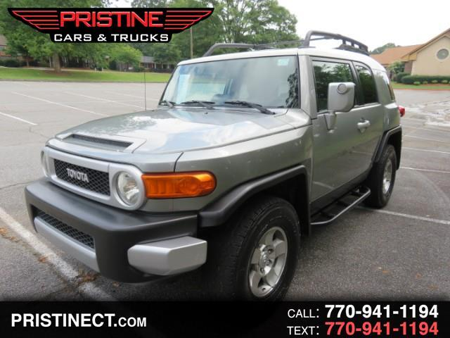 2010 Toyota FJ Cruiser 4WD AT Pkg 2 With Gages Leather