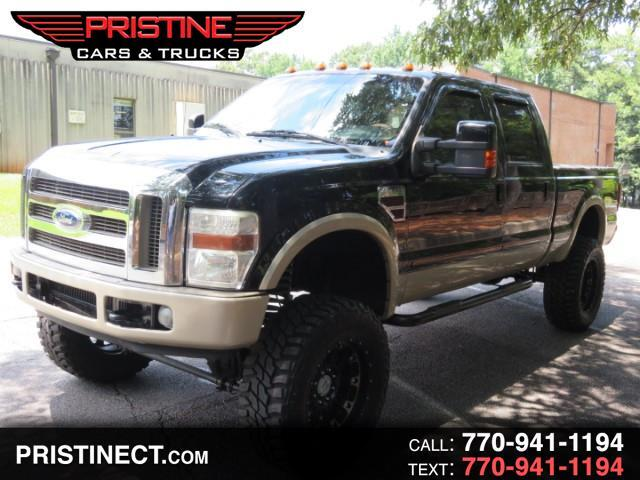 2008 Ford F-350 SD King Ranch F-350 Crew Cab Long Bed 4WD Turbo Diese