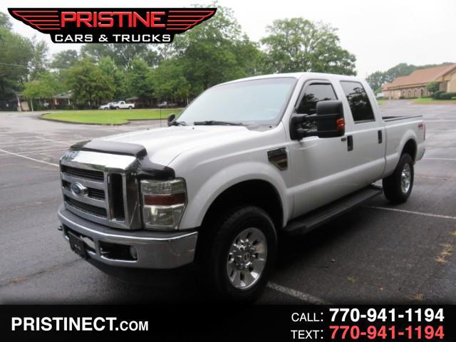 2008 Ford F-250 SD Larieat Super Crew Long Bed 4WD Turbo Diesel
