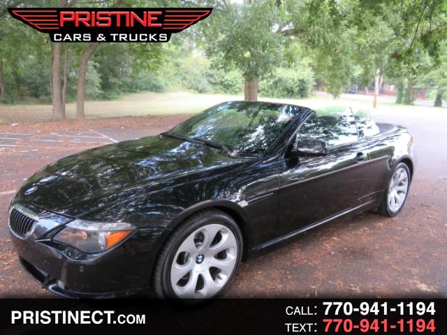 2007 BMW 6-Series 650i Convertible Sport Pkage
