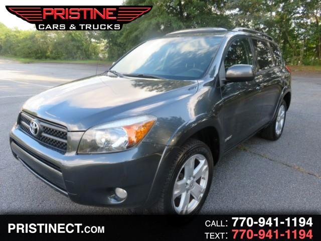 2008 Toyota RAV4 FWD 4dr 4-cyl 4-Spd AT Sport (Natl)